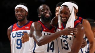 Team USA celebrate