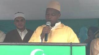 Mufti w'u Rwanda Sheikh Salim Hitimana