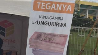 Umubare w'abantu bazigama muri banki uracyari muto mu Rwanda