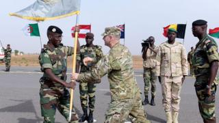 US and Senegalese troops inaugurate a military base in Thies, 70km from Dakar