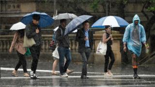 Australia fires: Heavy rains hit some blaze-hit regions