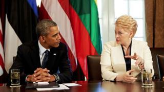 Грибаускайте і Обама
