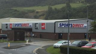 Sports Direct in Bangor