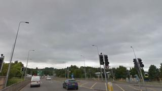The A48 near Cowbridge Road