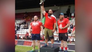 Strongman Games: Wales' strongest man wins Europe title