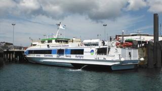 Manche Iles Express boat Granville