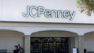 positive news A JC Penney store in California