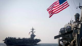 Amerika Serikat, Korea Utara, Carl Vinson
