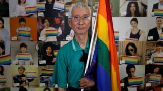 台湾同婚合法化推手祁家威