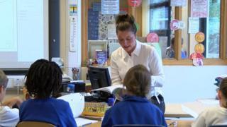 Teacher in a Jersey school