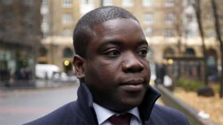 Kweku Adoboli arriving at court on 20 November 2012