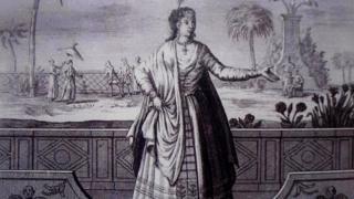 પુસ્તકમાં રજૂ કરેલું જુલિયાનાનું ચિત્ર