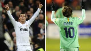 Messi da Ronaldo