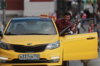 Москвадагы такси кызматы