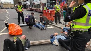 Edinburgh road closure