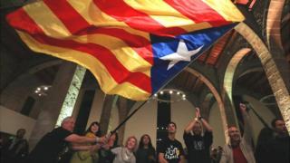 bandera catalana.