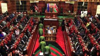 Opening of the 11th Parliament in Nairobi - Kenyan National Assembly in 2013