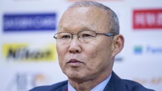 Huấn luyện viên U23 Việt Nam ông Park Hang Seo