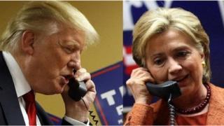 Tramp va Klinton