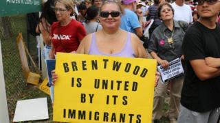 Claudia Sanchez, habitante de de Brentwood.