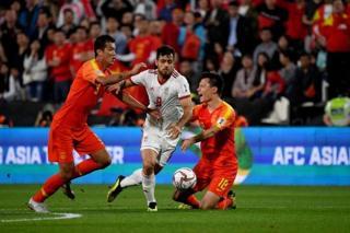 بازی فوتبال ایران و چین