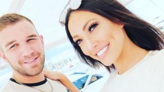 Aaron Armstrong and Sophie Gradon