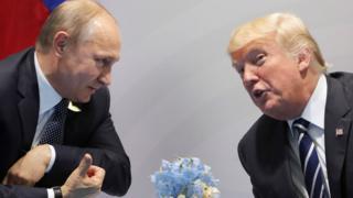 Путин и Трамп в Гамбурге