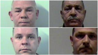 James McPhee, Robert McPhee, John Miller and Steven McPhee.