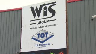 Williams Industrial Services sign
