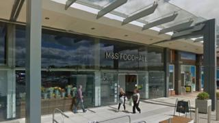 M&S Foodhall at Broughton, Flintshire