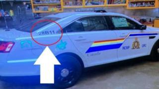 پلیس کانادا می گوید متهم از خودرویی شبیه به خودروی پلیس استفاده کرده است
