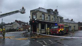 Armagh fire