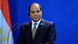 عبدالفتاح سیسی در پی یک کودتای نظامی در مصر به قدرت رسیده است
