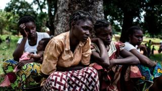 Women refugees wey dem detain for Democratic Republic of Congo