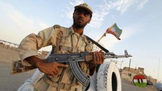 جندي إيراني