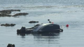 Boat capsize at Mountbatten