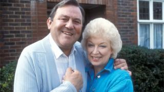 Terry Scott as Terry and June Whitfield as June