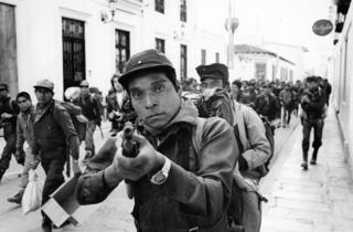 EZLN, 1994, Chiapas.