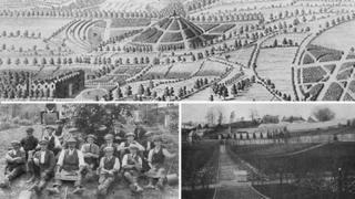 Old photographs of Whitehurst Gardens