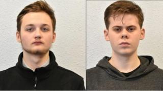 Michal Szewczuk and Oskar Dunn-Koczorowski