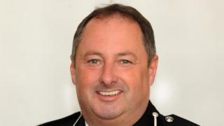 Mark Collins, the preferred candidate for the chief constable role at Dyfed-Powys Police
