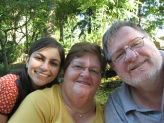 Rebecca, Davina and Daniel Dixon