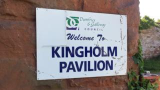 Kingholm Pavilion sign
