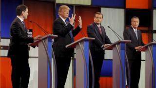 自分の手は小さくないと討論会で主張したトランプ氏