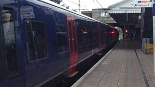 First Great Western Train in a station