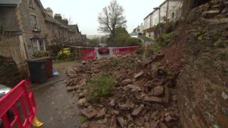 Totnes landslide