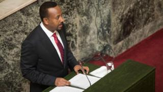 Ethiopian PM Dr Abiy Ahmed