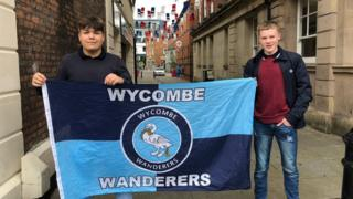 Wycombe fans