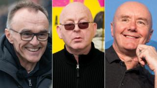 Danny Boyle, Alan McGee, Irvine Welsh
