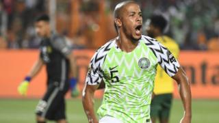 Super Eagles player Troost
